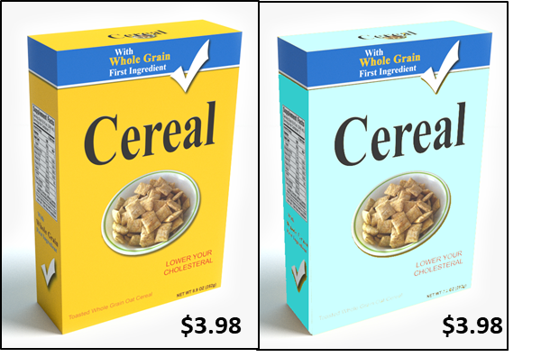 Cereal Box One