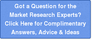 Got a Question for the Market Research Experts? Click Here for Complimentary Answers, Advice & Ideas