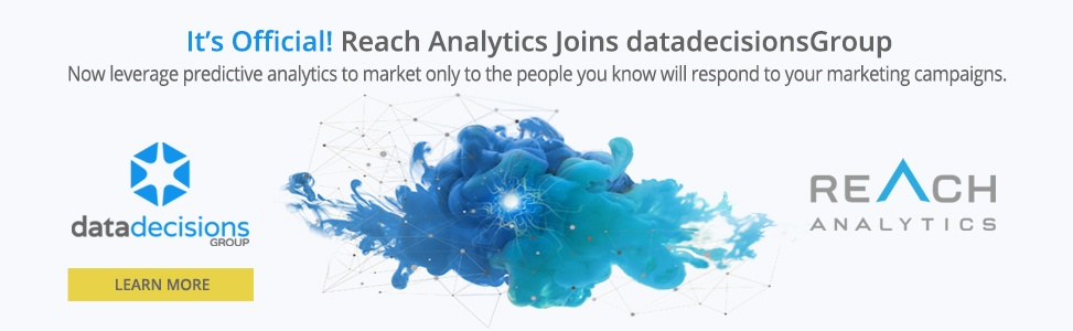 It's Official! Reach Analytics Joins datadecisionsGroup